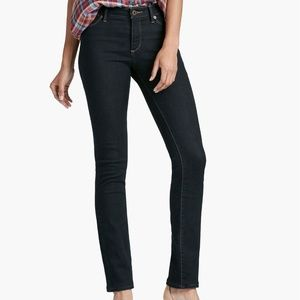 Lucky Brand Hayden Straight Midrise Slimming Jeans